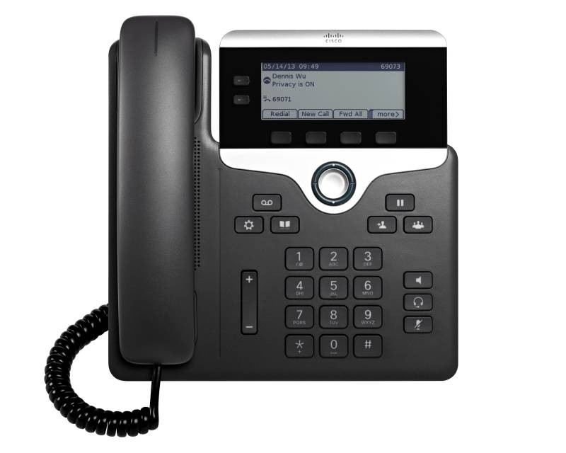 Cisco 7821 SIP Phone with Multiplatform Phone Firmware