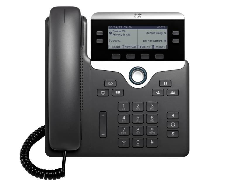 Cisco 7841 SIP Phone with Multiplatform Phone Firmware