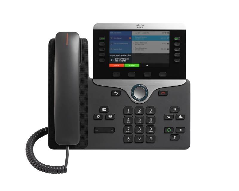 Cisco 8861 SIP Phone with Multiplatform Phone Firmware