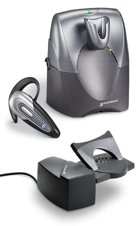 Plantronics CS60 Micro DECT Wireless Headset & Handset Lifter Bundle