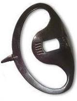 High-grade D style listen-only earpiece