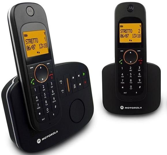 Motorola  D1012 Twin  DECT Cordless Phone