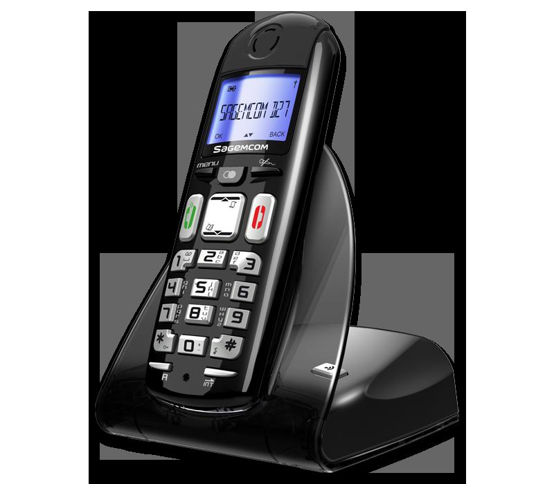 Sagemcom D27T DECT Cordless Phone