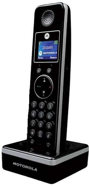 Motorola LIVN D800 Additional Handset Black