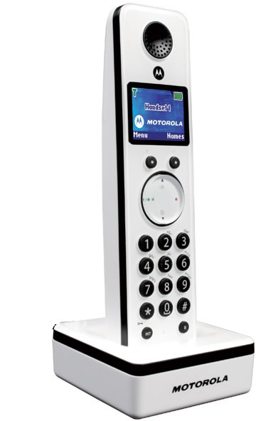 Motorola LIVN D800 Additional Handset White