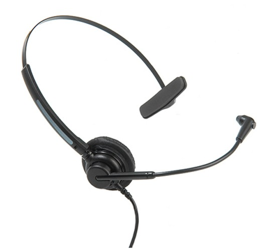 Dasan DH-07T Noise Cancelling  Corded Office Headsets (Including connection lead)