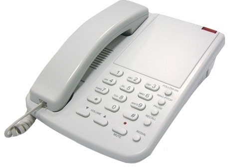 Orchid DBT1000 Business Phone - Light Grey