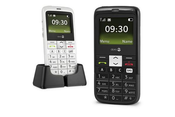 Doro PhoneEasy 332 GSM Sim Free Mobile Phone - Black