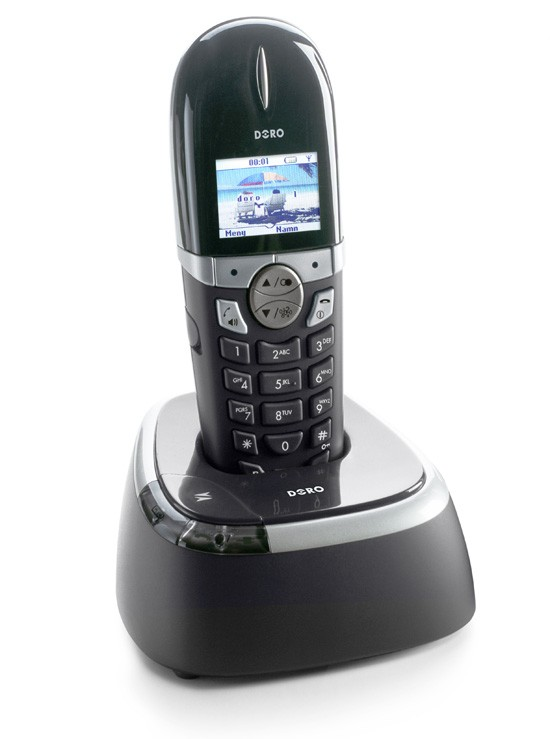 Doro 740  DECT Cordless Phone - Black