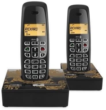 Doro NeoBio 20+1 DECT Twin Pack Cordless Phone