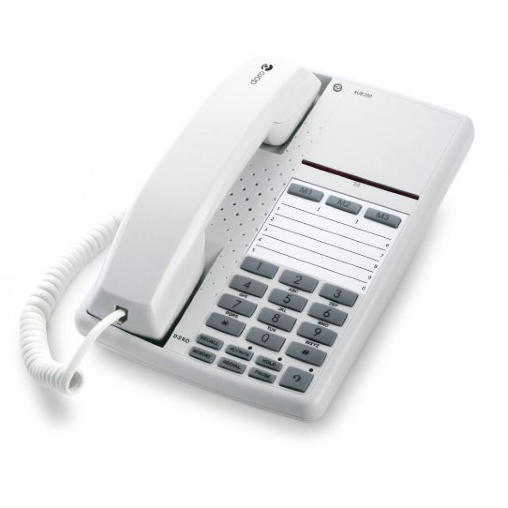 Doro AUB 200 Office Telephone - White