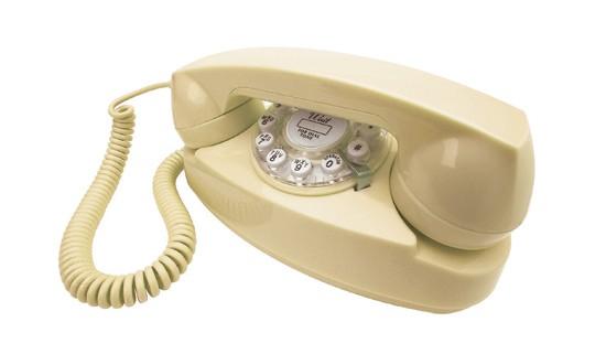 Henry Dreyfuss 1950's Princess Phone - Cream