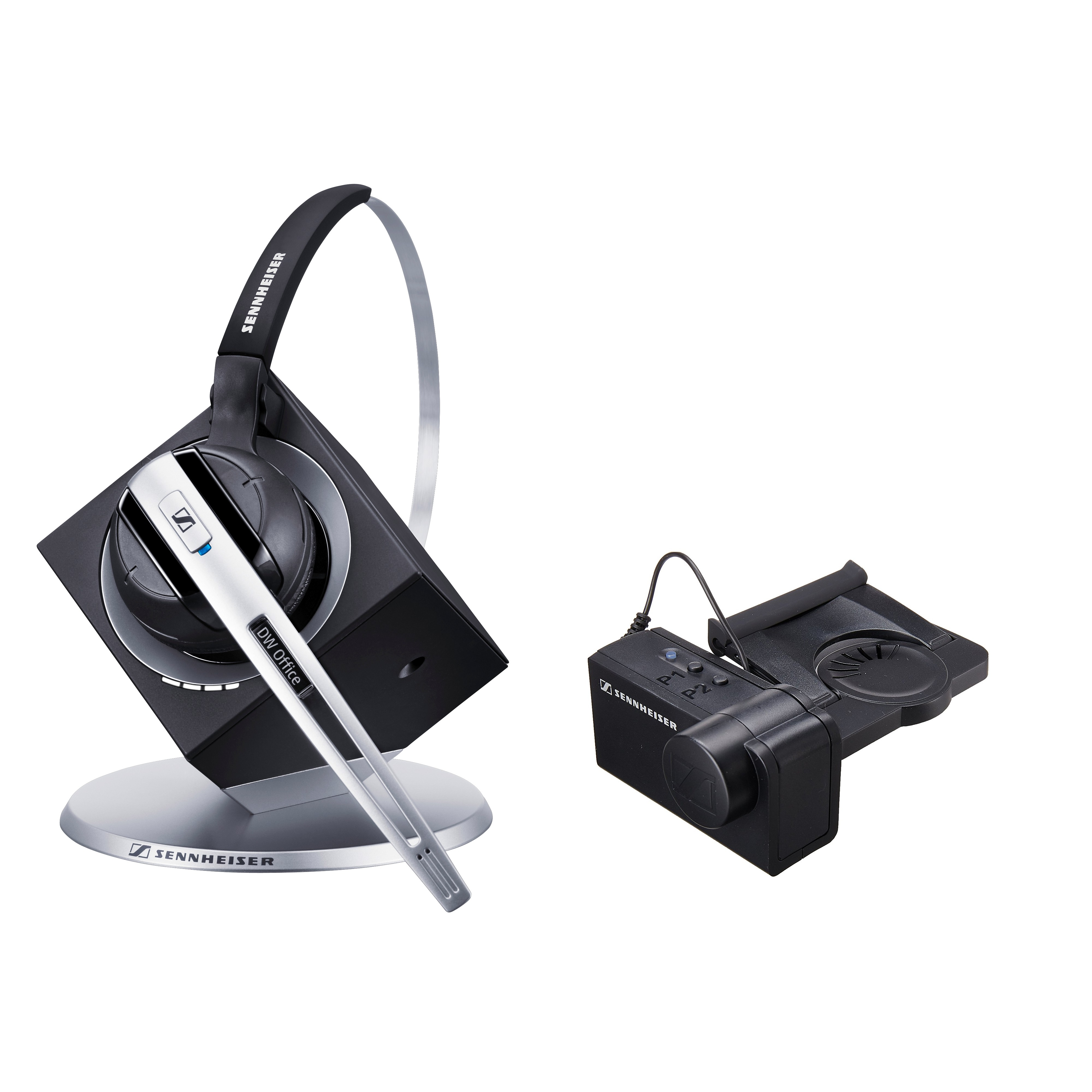 Sennheiser DW Office DECT Headset with Sennheiser HSL 10 Lifter Bundle