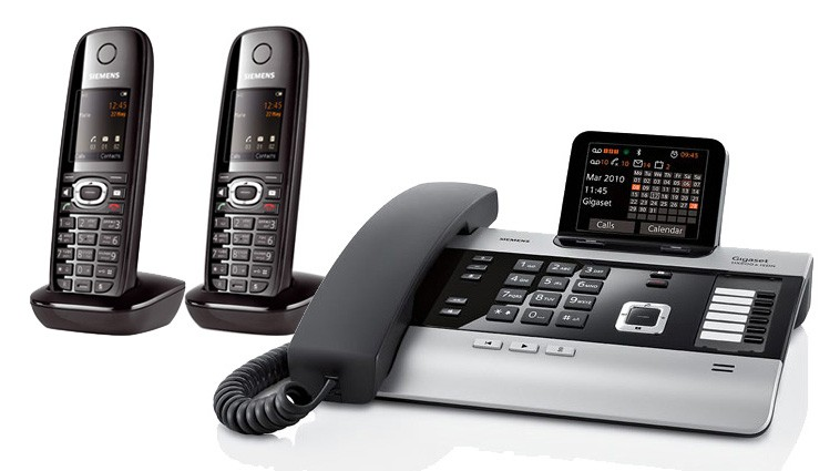 Gigaset DX800A All In One Telephone and Two C610H Additional Handsets