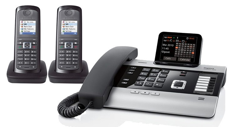 Gigaset DX800A All In One Telephone and Twin E49H Additional Handset