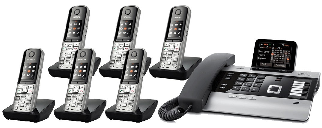 Gigaset DX800A All In One Telephone With Sextet S79 Additional Handsets