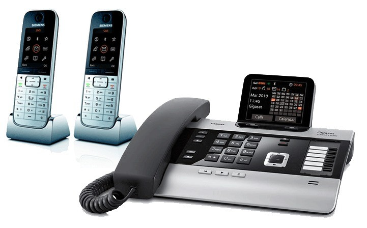 Gigaset DX800A All In One Telephone With Twin SL78H Additional Handsets
