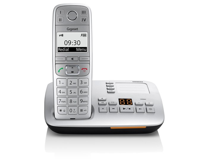 Gigaset E500A Big Button DECT Cordless Phone With Answering Machine