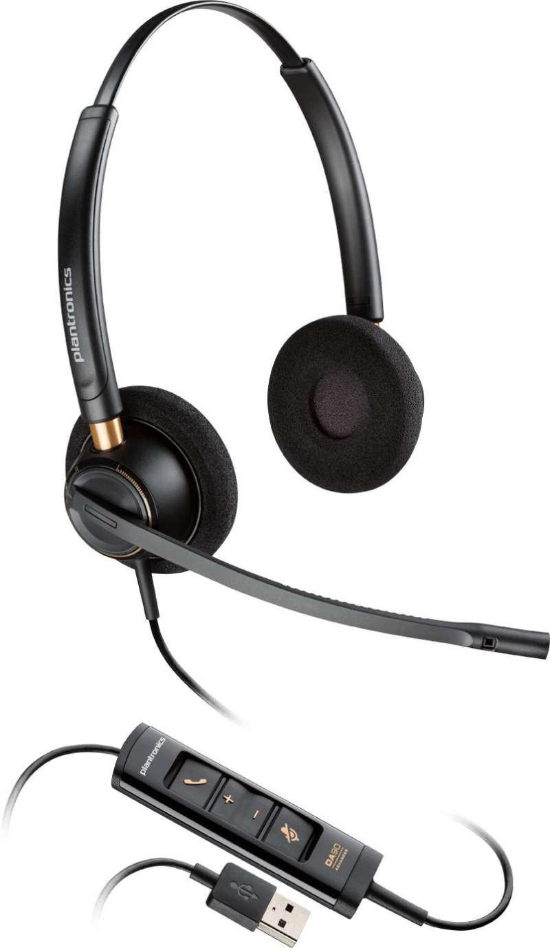 Plantronics Encore Pro HW525 USB Binaural Headset