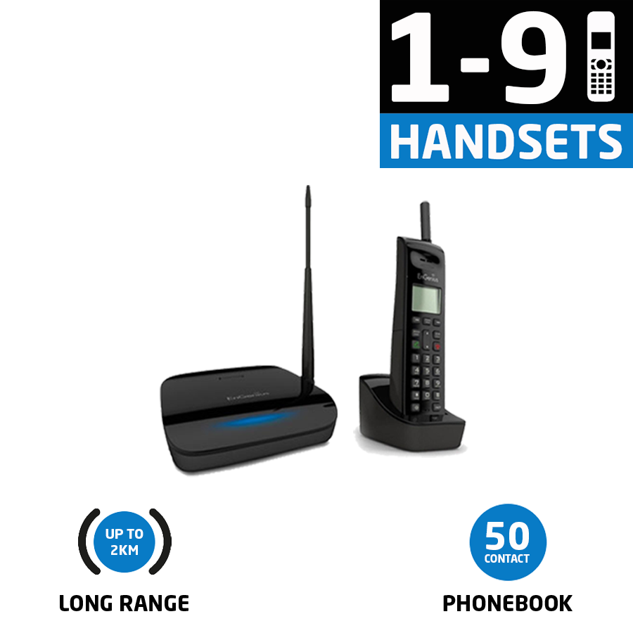 EP802 One To Nine Handsets