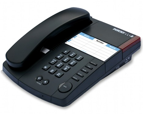 Trojan NRX EVO 150 Business Office Telephone - Charcoal