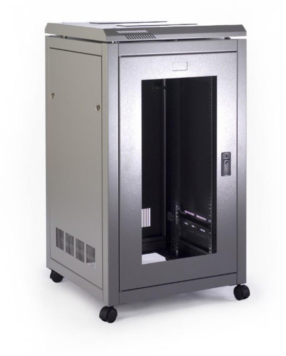 Prism Free Standing Cabinet 18U (990x600x600)