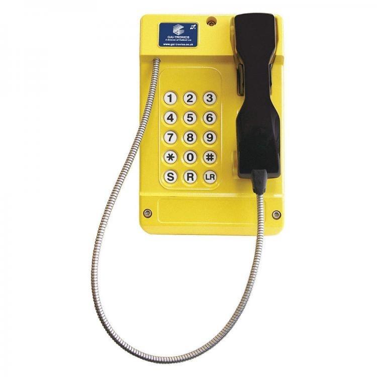 Gai-Tronics Commander 620 15 Button Phone - Steel Cord