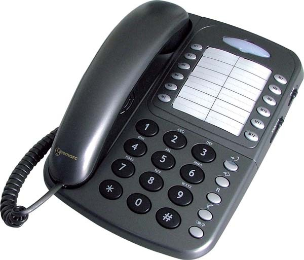 Geemarc CL1100 Amplified Telephone - Graphite