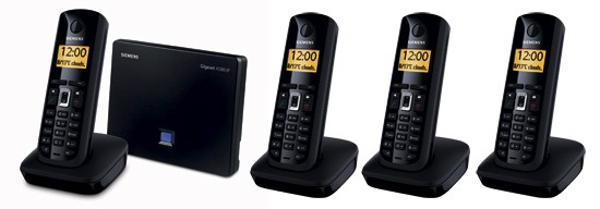 Siemens Gigaset A580 IP Quad Cordless Phone for VoIP