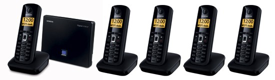 Siemens Gigaset A580 IP Quint Cordless Phone for VoIP