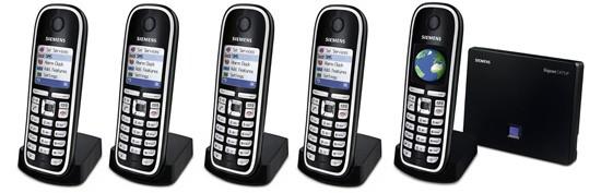 Siemens Gigaset C475IP DECT Quint SIP Cordless Phone