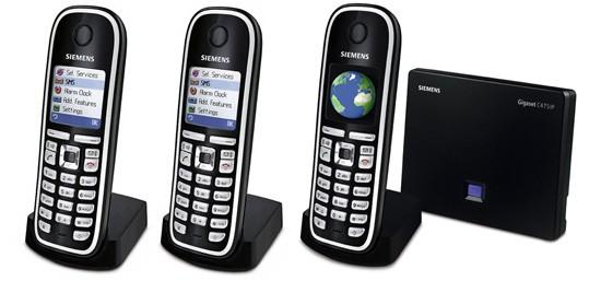 Siemens Gigaset C475IP DECT Triple SIP Cordless Phone