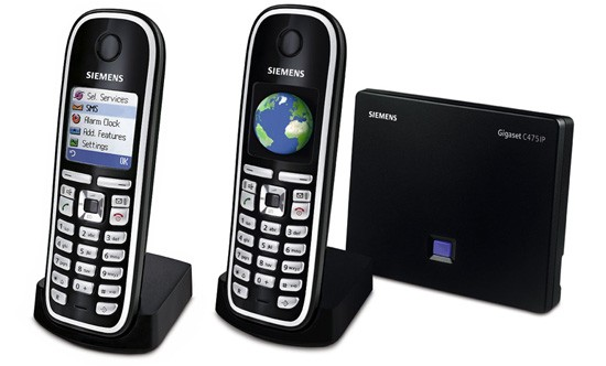 Siemens Gigaset C475IP DECT Twin SIP Cordless Phone
