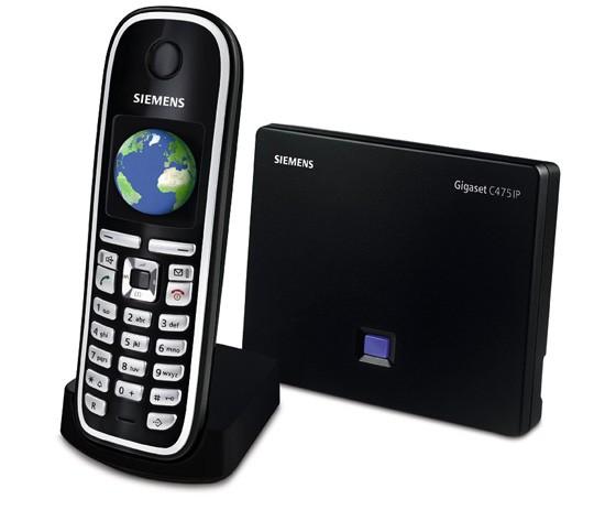 Siemens Gigaset C475IP DECT SIP Cordless Phone