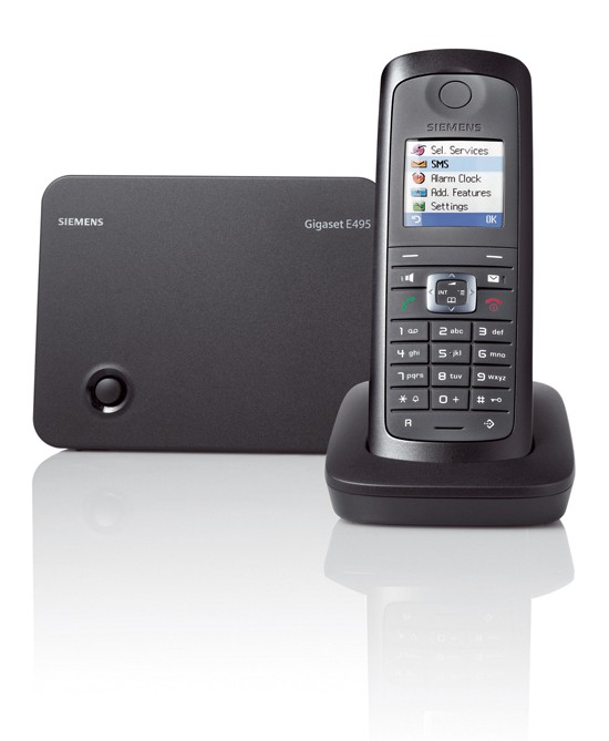 Siemens Gigaset E495 Ruggedised Cordless Phone with Answering Machine