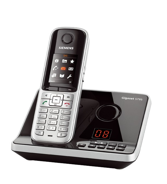 Gigaset S810A DECT Cordless Phone With Answering Machine & Bluetooth