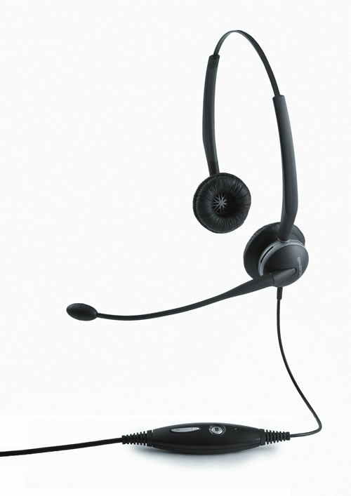 Jabra GN2000 Stereo USB Duo Headset - A Grade