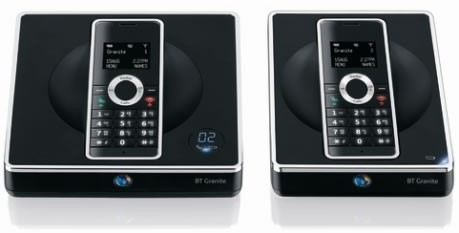 BT Granite DECT Cordless Phone with Answering Machine - Twin Pack