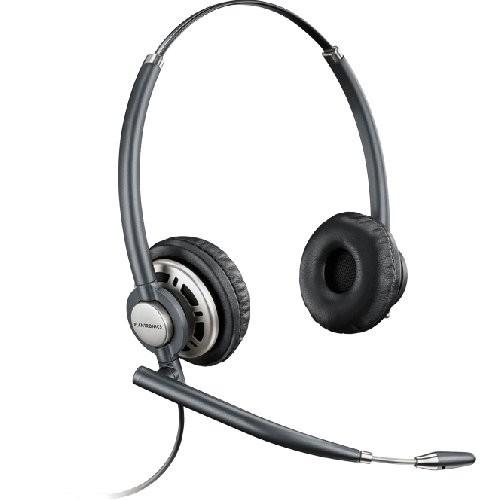 Plantronics Encore Pro HW301 N/A Binaural Noise Cancelling Office Headset - A Grade