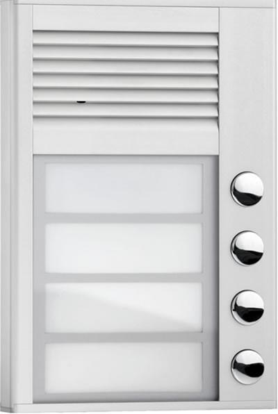 Interquartz ID204 4 Button Doorphone Entry System