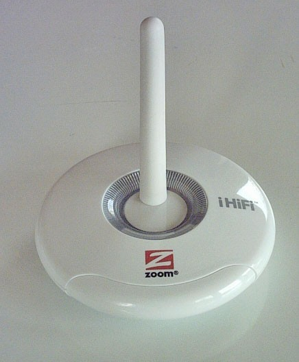 Zoom IHiFi Transmitter Receiver Bundle for Ipod