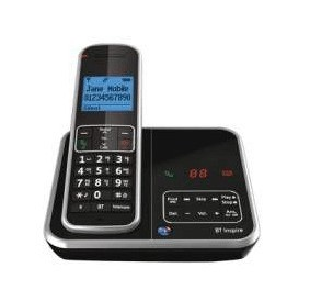 BT Inspire 1500 DECT Cordless Phone With Answering Machine
