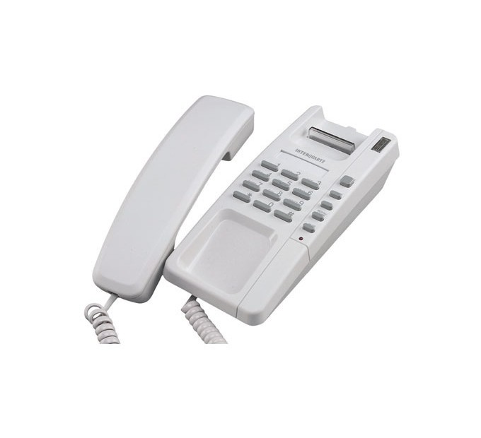 Interquartz Voyager Small Footprint Telephone 9825 Business Phone - Light Grey
