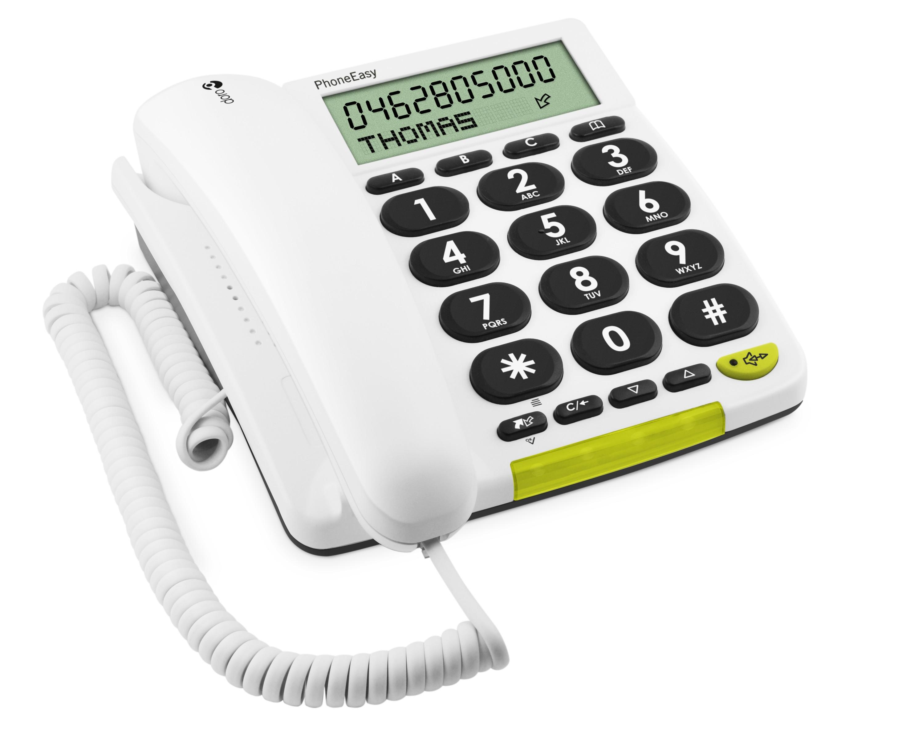 Doro PhoneEasy 312c Corded Telephone