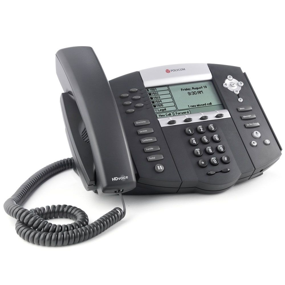 Polycom Soundpoint IP 650 HD Voice