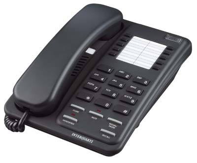 Interquartz Enterprise Speakerphone - Black
