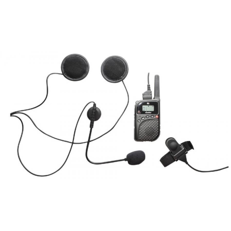 TTI PMR-506MH Super Slim PMR446 Radio & Helmet Mic Kit