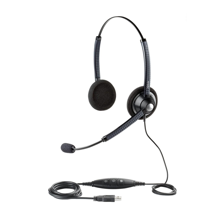 Jabra Biz 1900 USB Duo Noise Cancelling Office Headset
