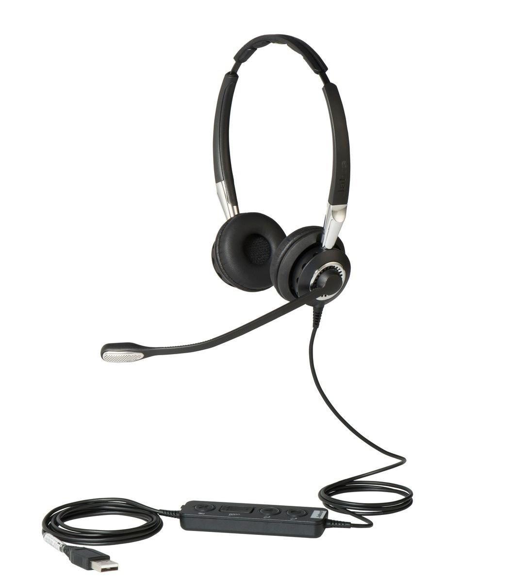 Jabra Biz 2400 II Duo USB Headset (CC)