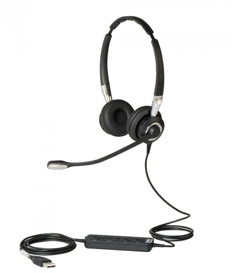 Jabra Biz 2400 II Duo USB UC Headset (BT)